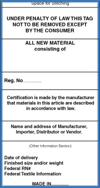 Law label Registration service from India